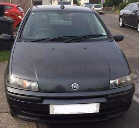 Economical, reliable, 5 door hatchback, power steering Fiat Punto 2003 for sale, low mileage