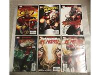 Ms Marvel comics and DC batgirl comic books issues