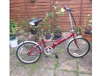 Phillips folding bike.