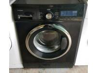 Black Washing Machine - 6 Months Warranty - £140