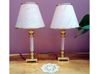 Pair of Elegant Table Lamps in Immaculate Condition