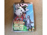 Cow Halloween Costume or School Play Costume