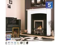 GAS AND ELECTRIC FIRES,SUITS,FIRESURRONDS,FIREPLACES WIDE RANGE AVAILABLE AT RAINBOW PONTYPRIDD