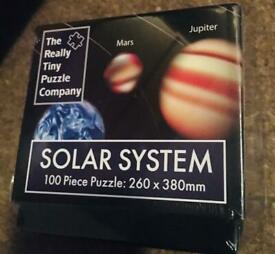 100pc Small Solar System Puzzle
