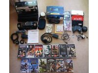 Sony PSP Giga Pack, Logic 3 Sound System Mini Theatre for PSP, 13 Games and Accessories Bundle