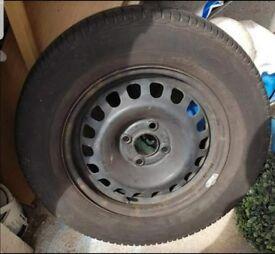 Vauxhall Corsa Spare Wheel with GOODYEAR tyre (Full tread)