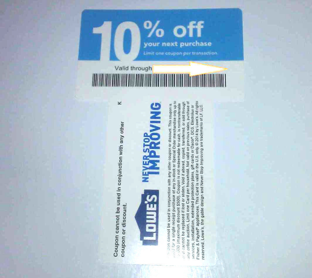 20x Not Lowes 10 Blue Card Coupons For Home Depot Only Expires 8/15/2021 AUGUS - $10.23