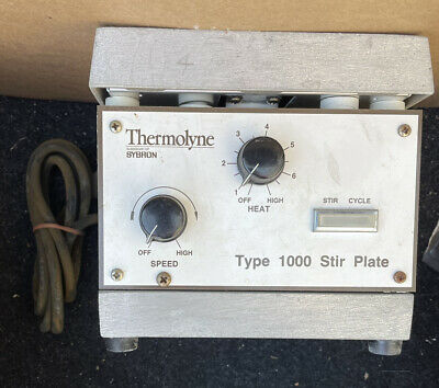 Thermolyne Type 1000 Stirrer Hotplate Stirring Hot Plate Chemistry Lab Equipment