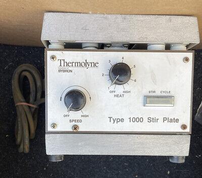 Thermolyne Type 1000 Stirrer Hotplate Stirring Hot Plate Chemistry Lab Equipment