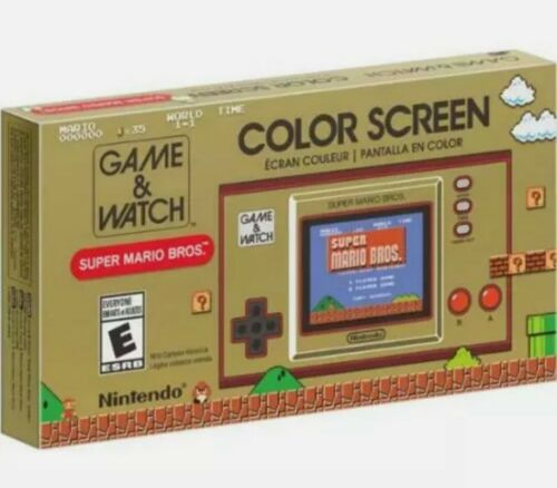 Nintendo Game And Watch Super Mario Bros. - Game And Watch Style Handheld System - $39.99