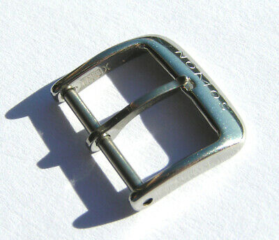 Nomos 16mm Dornschliesse Stahl buckle steel  I581