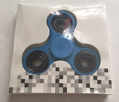 """""""Original""""""""NEW!HOT!FUN!"""" Fidget Spinner Work-Class-Home. BLUE"""