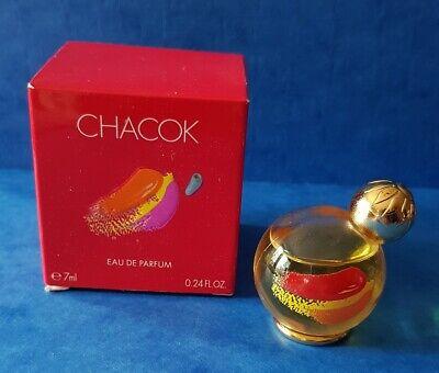 """*** Miniature Ancienne """" CHACOK """" 7 ml eau de Parfum *** Vintage"""
