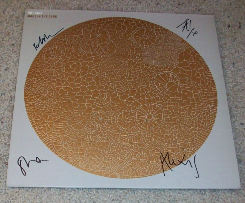 HOT CHIP SIGNED AUTOGRAPH MADE IN THE DARK VINYL w/EXACT PROOF ALEXIS TAYLOR +3