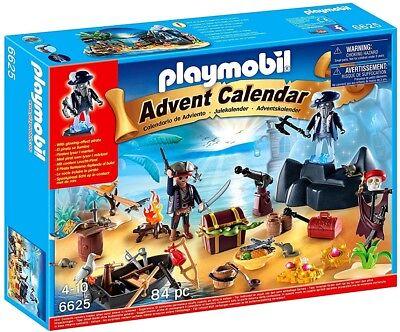 Playmobil Pirates Advent Calendar Pirate Treasure Island Set #6625
