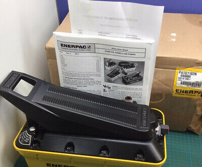 Enerpac Patg1102n Hydraulic Air Operated Pump 10000 Psi New