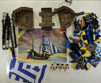 Lego 6274 Pirates Caribbean Clipper w/ All Minifigs READ DESCRIPTION