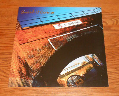 Sinead O'Connor Gospel Oak Poster 2-Sided Flat Square Promo 12x12 RARE