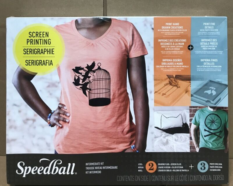 Speedball Intermediate Screen Printing Kit - Level 2 Level 3