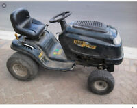 Wanted any Lawn tractor parts