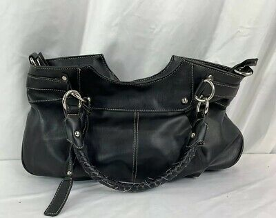 Mondani New York Black Patent Leather handbag