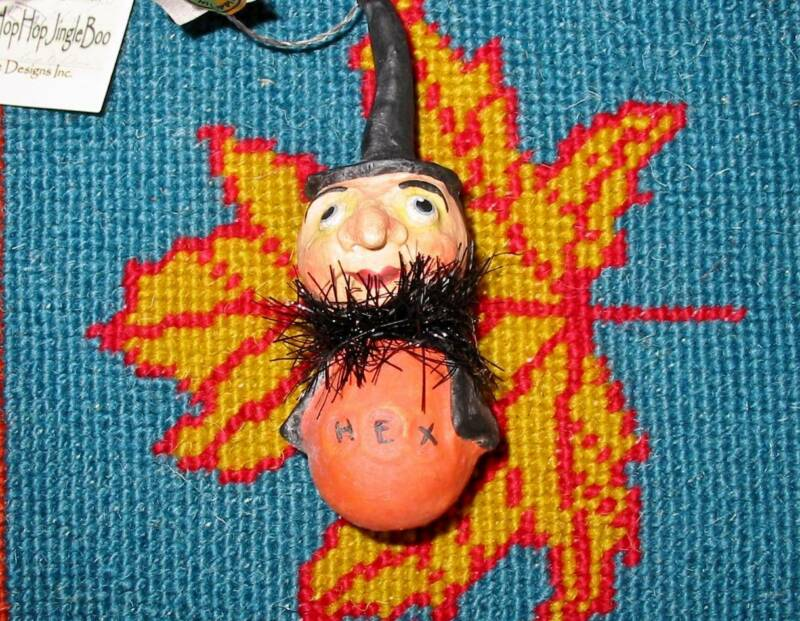 Bethany Lowe Halloween Tiny Little Ghoul Ornament Hex Witch Debra Schoch New