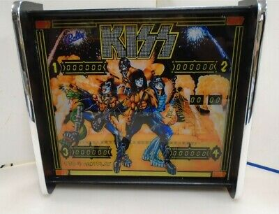 Bally KISS Pinball Head LED Display light box