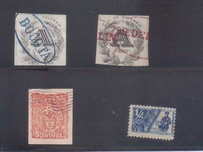 Colombia Four early stamps