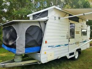 2003 Windsor Rapid 15ft Off Road Explorer, A/C, sleeps 6 Gympie Gympie Area Preview