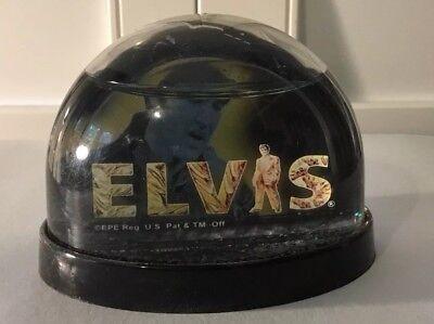 Gold Lame Elvis (Elvis 68 Comeback / Gold Lame Snow Globe / Memphis /)