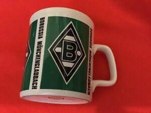 BORUSSIA MONCHENGLADBACH VINTAGE COFFEE MUG -SMALL CHIP ON LIP DISPLAY ONLY