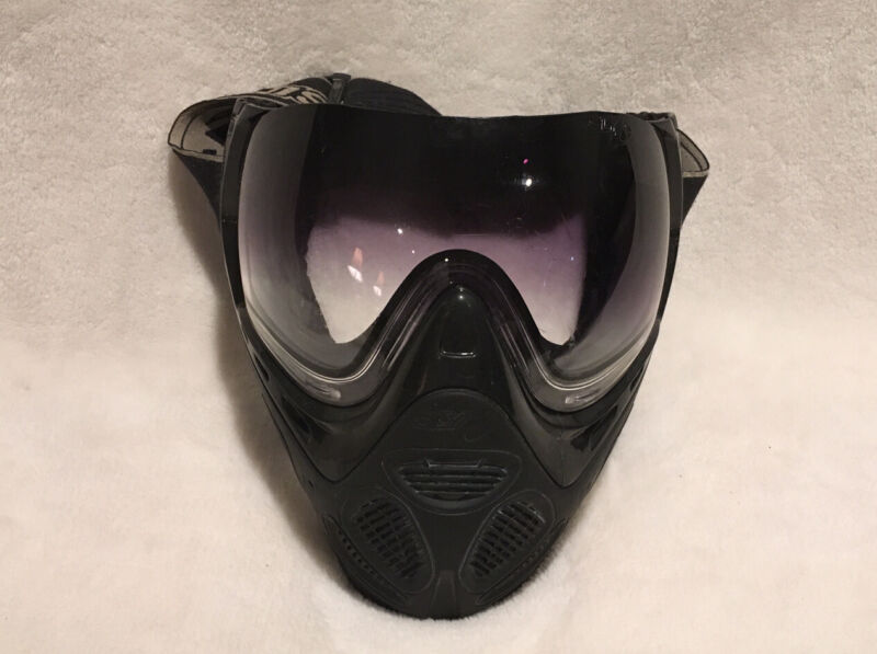 Sly Profit Thermal Anti-Fog Paintball Mask - Black