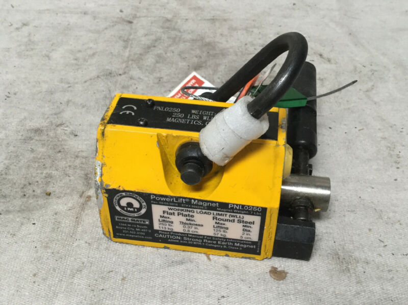 MAG-MATE PNL0250 Lifting Magnet 250 lb Cap 5 In OAL