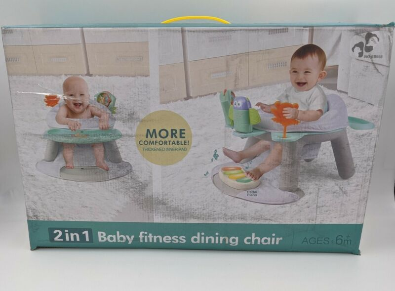 Brakites Baby Seat Jumping Chair 2-in-1 Sit-up Floor Seat & Infant Activity Seat