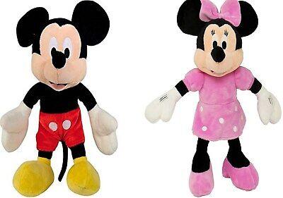 Disney Mickey Minnie Mouse Maus Plüsch Figur 30 cm Stofftier Plüschtier