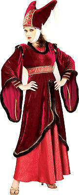 Maid Marion Marian Red Renaissance Princess Dress Up Halloween DLX Adult Costume ()