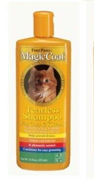Magic Coat Tearless Cat Shampoo - Four Paws Magic Coat CAT & KITTEN TEARLESS SHAMPOO 12oz