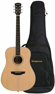 Orangewood Rey Grand Auditorium Cutaway Acoustic Guitar with Mahogany Top, Ernie