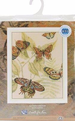 Rto Butterfly Kingdom Cross Stitch Kit M70012 Sealed