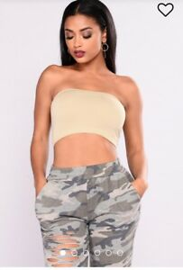 Nude bandeau s/m/L (one size)
