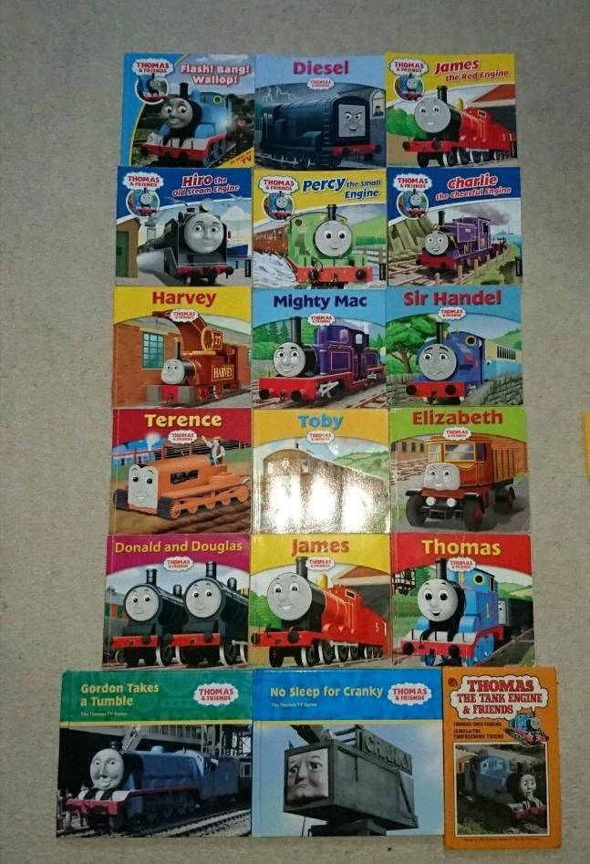 18 Thomas the tank engine and friends books