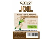 AMVOR MUSCLE & JOINT OIL