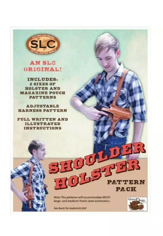 Springfield Leather Company Two Shoulder Holster Full Sized Pattern Pack