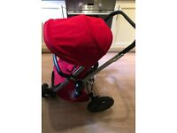Quinny buzz xtra pushchair with carrycot