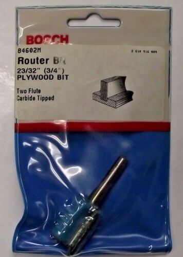 """Bosch 84602M 23/32"""" Plywood Mortising Router Bit Carbide Tip"""