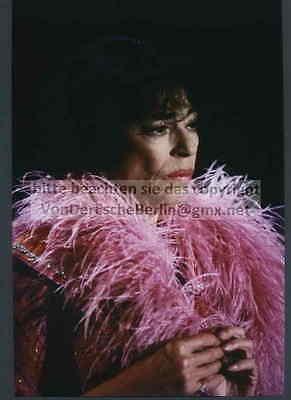 STARS: Hanne WIEDER Portrait in 3 OriginalFarbFotografien v.Ingo BARTH signiert