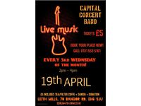 LIVE MUSIC event in James Pringle 19.04.2017