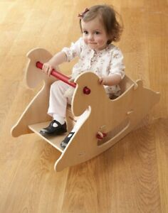 HABA Moover wooden baby toddler kid Rocking Horse toys