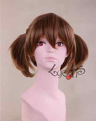 Sword Art Online Ayano Keiko Adult brown wig Anime Cosplay Brown hair Wig USA ()