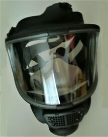 SCOTT SAFETY PROMASK SINGLE FULL FACE RESPIRATOR - with spare filter - almost new